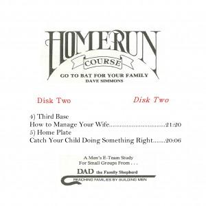 HOME RUN COURSE DISK 2
