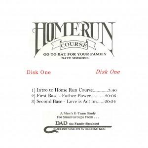 HOME RUN COURSE Disk 1